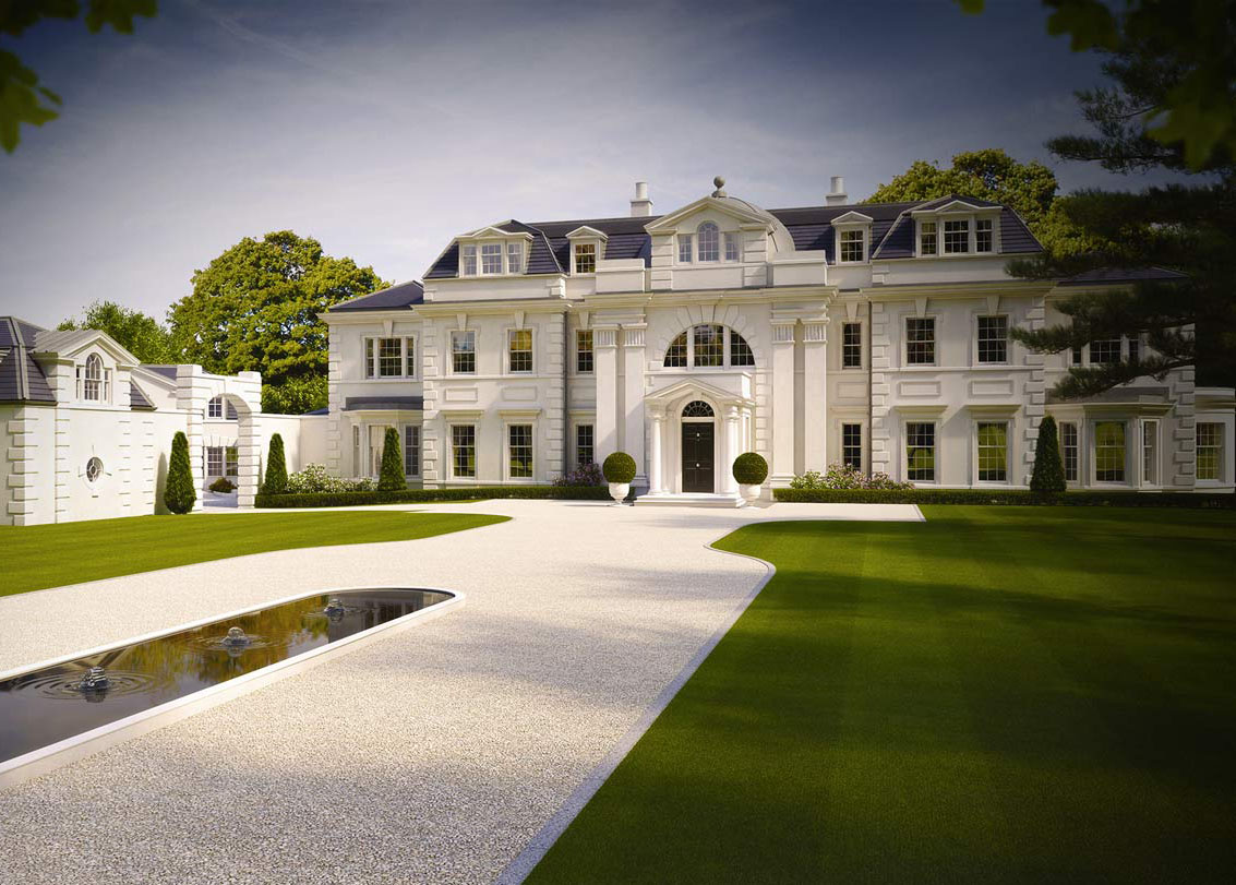 CLASSICAL / TRADITIONAL ARCHITECT   JULIAN BICKNELL U0026 ASSOCIATES   ST  GEORGES HILL SURREY   LUXURY HOUSE HOME